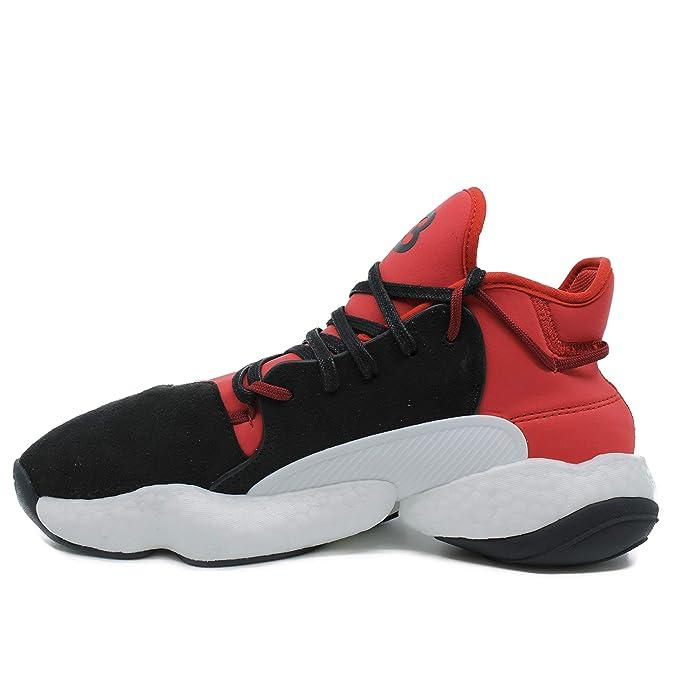 wholesale dealer 3424f 9df46 Amazon.com   Y-3 Men s Sneaker Y-3 Byw Bball in Neoprene Rosso E Suede Nero  9, 5(UK)-10(US) Multicolour   Fashion Sneakers
