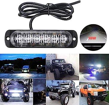 7 inch 400W Cree LED Work Light Bar Flood Spot Offroad 4WD SUV Driving Fog Lamp
