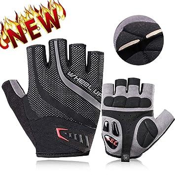 RockBros Cycling Gloves SBR Shock Absorption Anti-slip Bike Full Finger Gloves