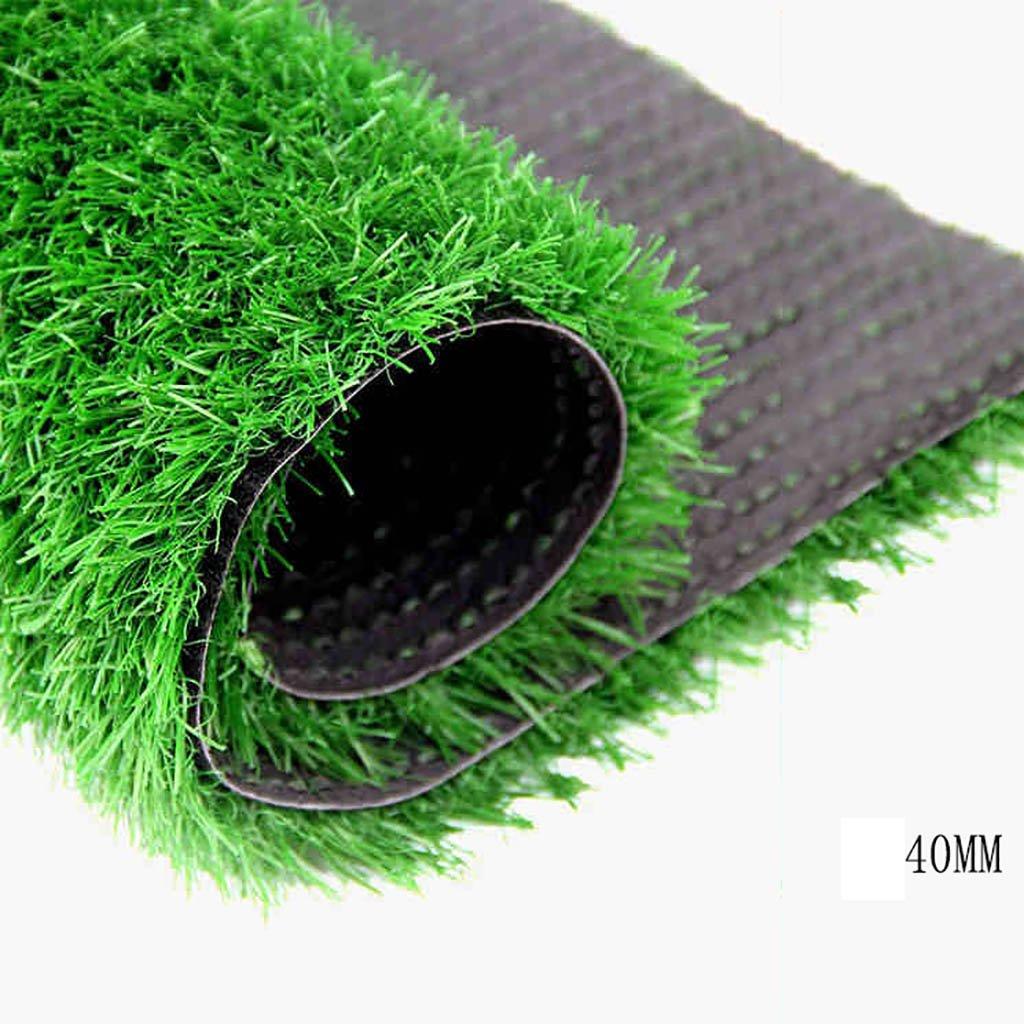WENZHE 人工芝芝生 ガーデンターフ 人工芝サッカー場高密度安価、2メートルワイド、厚い40 / 50mm、4つのスタイル ( 色 : A-40mm , サイズ さいず : 2*0.5m ) B079173LKN 16787 2*0.5m|A-40mm A40mm 2*0.5m