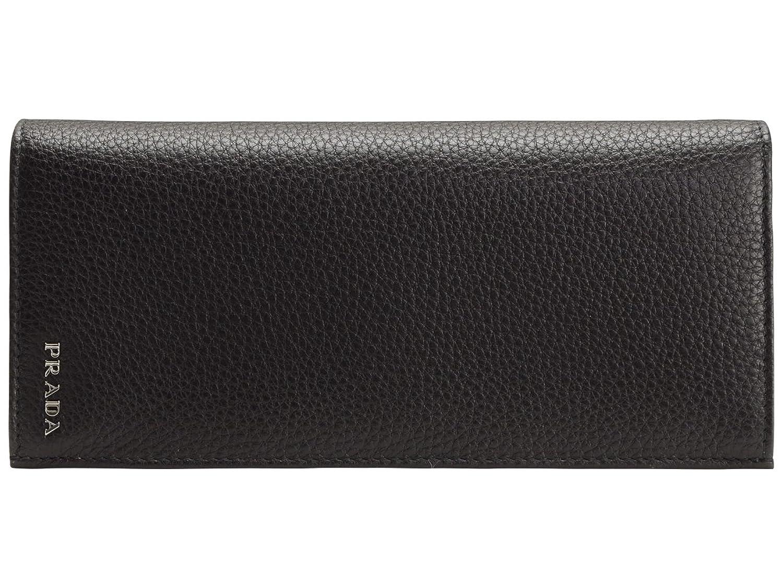 (プラダ) PRADA 財布 長財布 二つ折り メンズ ブラック レザー 2MV836 アウトレット [並行輸入品] B01ASIUML0