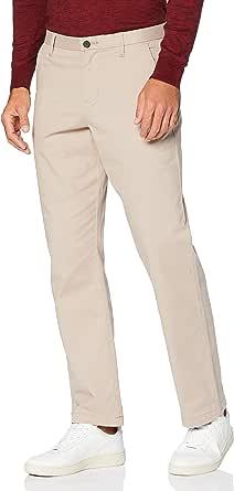MERAKI Pantalón Chino de Algodón Hombre