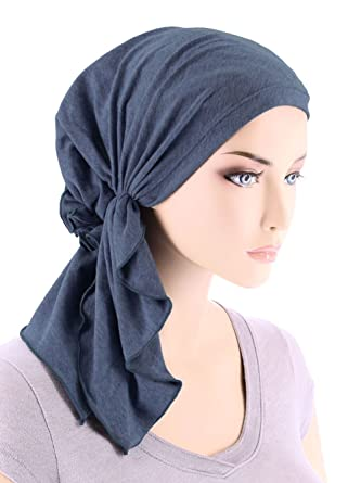 Turban Plus, Bella Scarf, Chemo Hat Turban [Pre-Tied]
