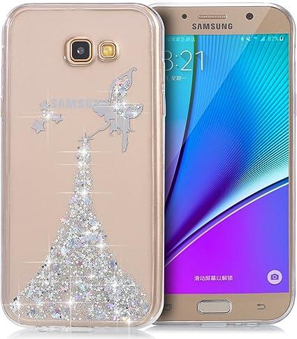 YSIMEE para Funda Samsung Galaxy A7 2017,Xmas Decoración Fundas ...