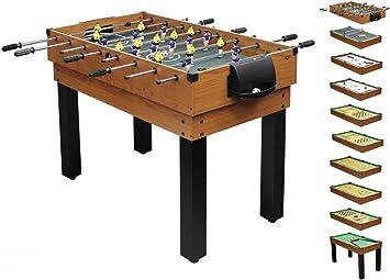 1plus Umfangreicher Multifunktionsspieltisch Tischkicker