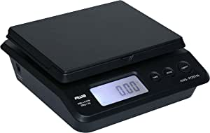 Digital Shipping Postal Scale, Package Postage Scale 55lbs. x 0.01lbs. (Black), PS-25