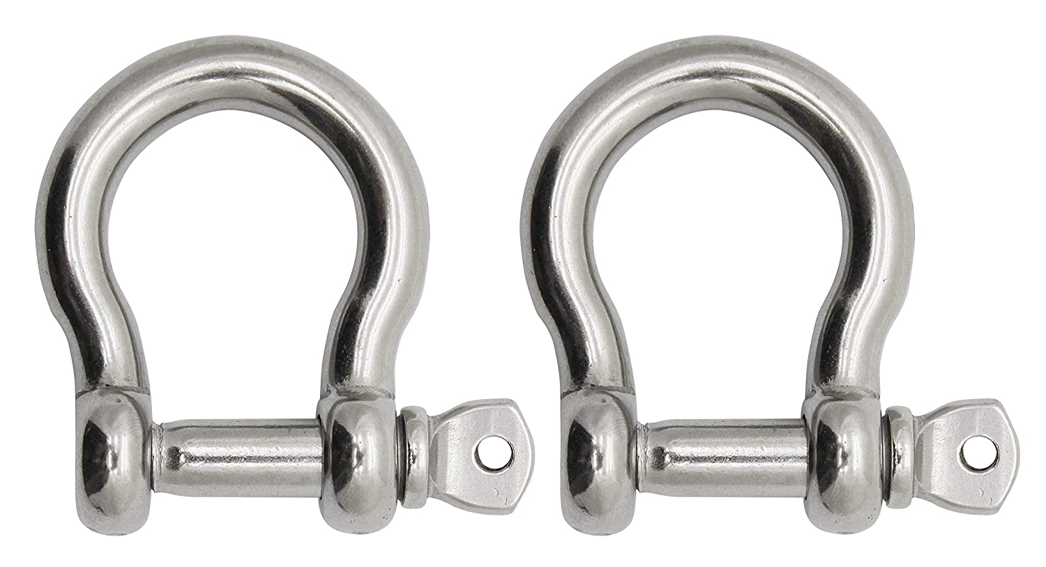 1//2 Extreme Max 3006.8297 BoatTector Stainless Steel Bow Shackle