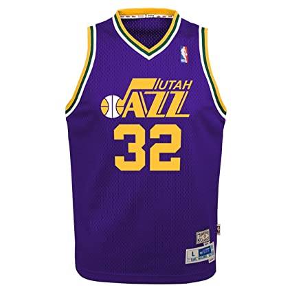 best service 545e8 bc431 Amazon.com : Outerstuff Karl Malone Utah Jazz NBA Youth ...