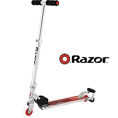 Razor Spark Ultra Kick Scooter - Red : Sports & Outdoors