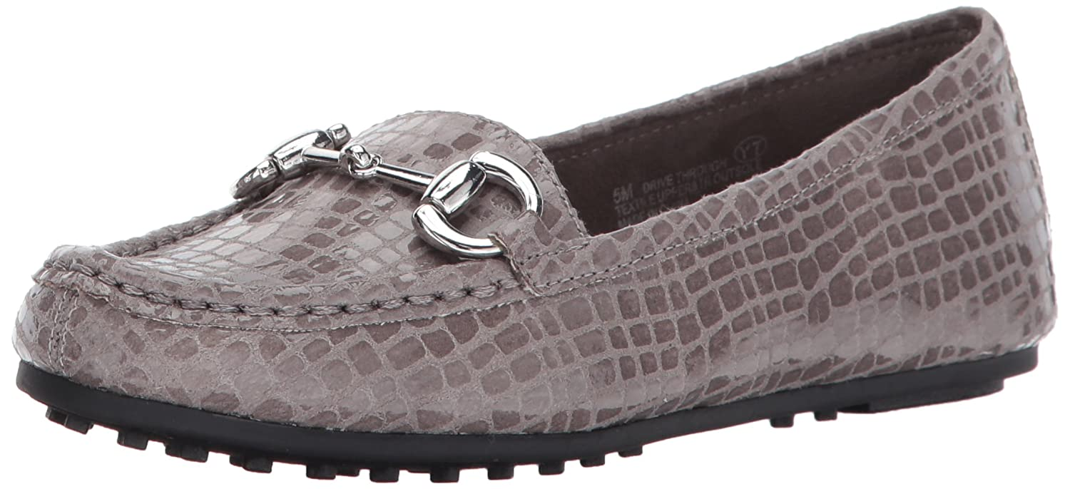 Grey Crocodile Aerosoles Women's Drive Through Slip-On Loafer