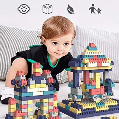 Fercisi Enlightenment Big Particle Environmental Protection Kid's Building Block Toys Blocks: Kitchen & Dining