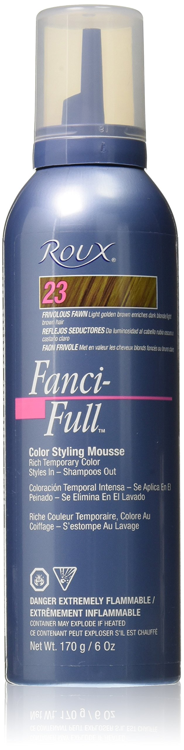 Amazon Roux Fanci Full Mousse 12 Black Rage 6 Fluid Ounce
