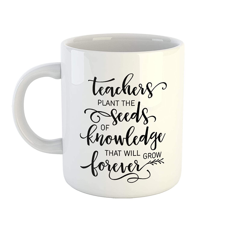 buy ikraft teachers day gift mug cute quotes teachers plant
