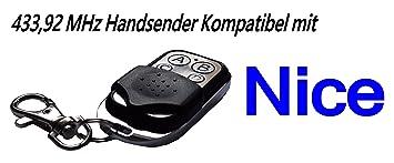 Nice Flo 1 Handsender 1-Kanal mit 433 MHz Funksender Toröffner Funk
