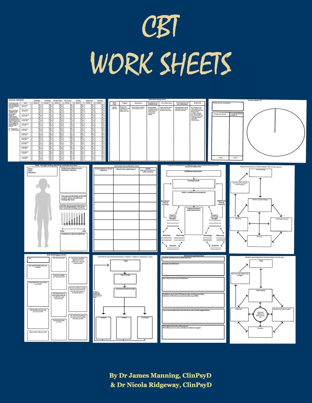 - Amazon.com: CBT Worksheets: CBT Worksheets For CBT Therapists In