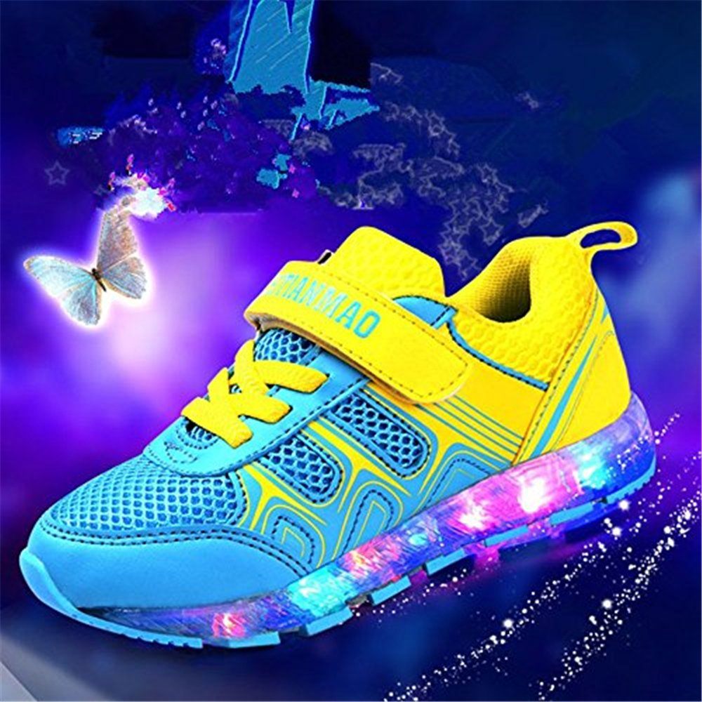 Gentleman/Lady coollight USB Charging Light up Shoes Shoes Shoes Sports LED Shoes Dancing Sneakers flagship store Cheaper than the price professional design GB4036 d7f145