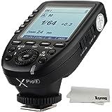 【正規品 技適マーク付き】Godox Xpro-F 2.4G ワイヤレスフラッシュトリガー 高速同期1 / 8000s Xシステム内蔵 超大LCDスクリーントランスミッタ付き 富士フイルムデジタルカメラ用