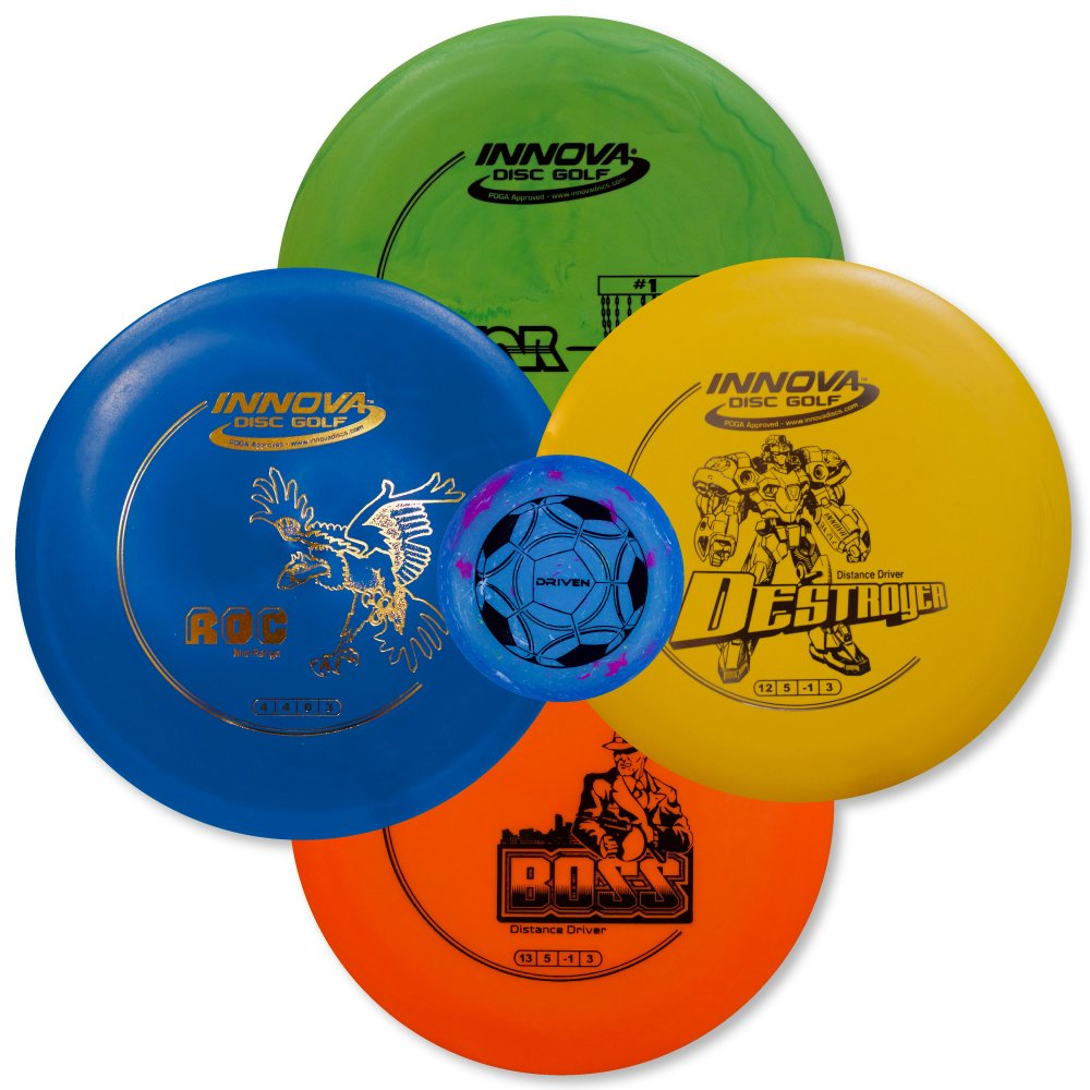 Driven Disc Golf Set - Advanced Players Pack 4 Disc Set - Innova Bundles for Intermediate to Advanced Throwers by Driven Disc Golf (Image #4)