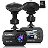 Toguard ドライブレコーダー ドラレコ 1080P フルHD 動き検知 常時録画 上書き録画 Gセンサー搭載 16Gカード付属 日本語説明書付き 【日本国内永久保証】