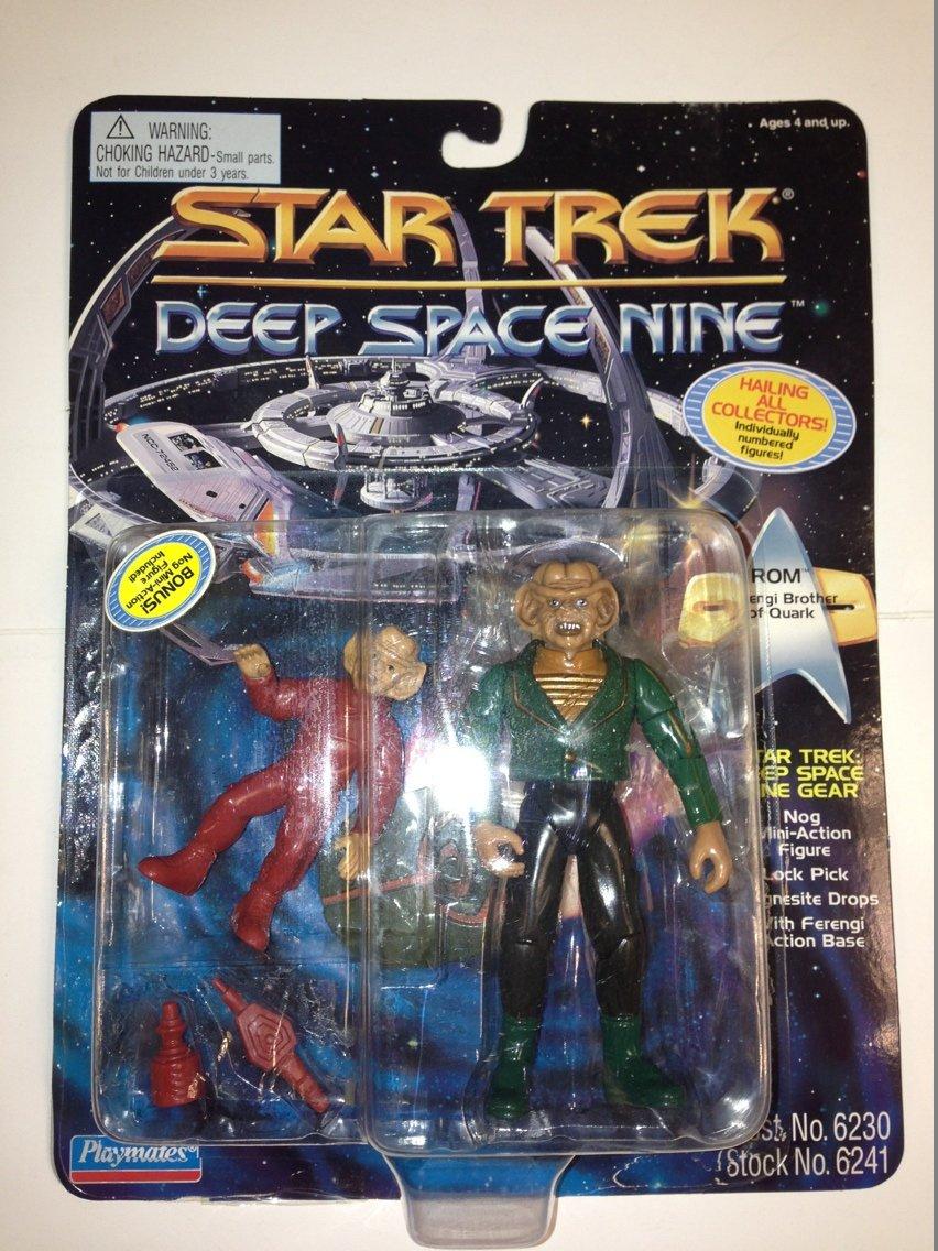 Star Trek Deep Space Nine Rom Action Figure Playmates 6230
