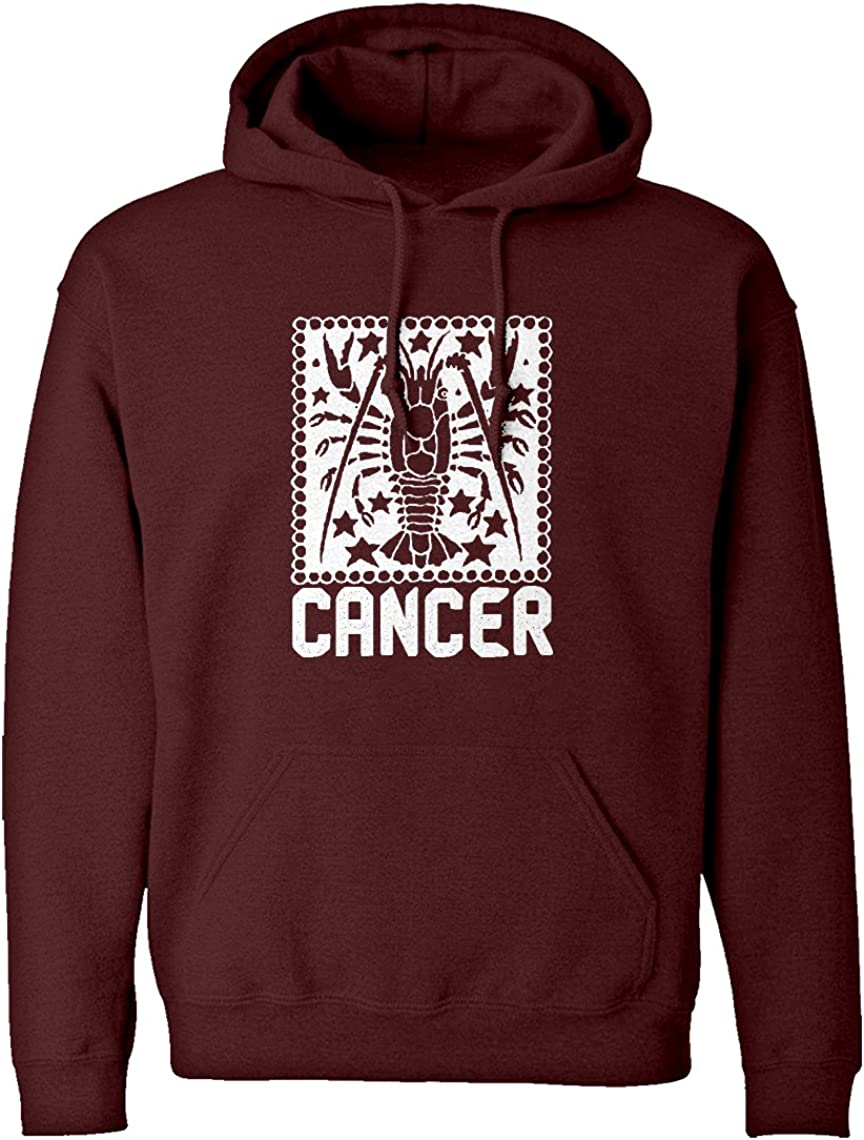 Indica Plateau Cancer Zodiac Astrology Unisex Adult Hoodie
