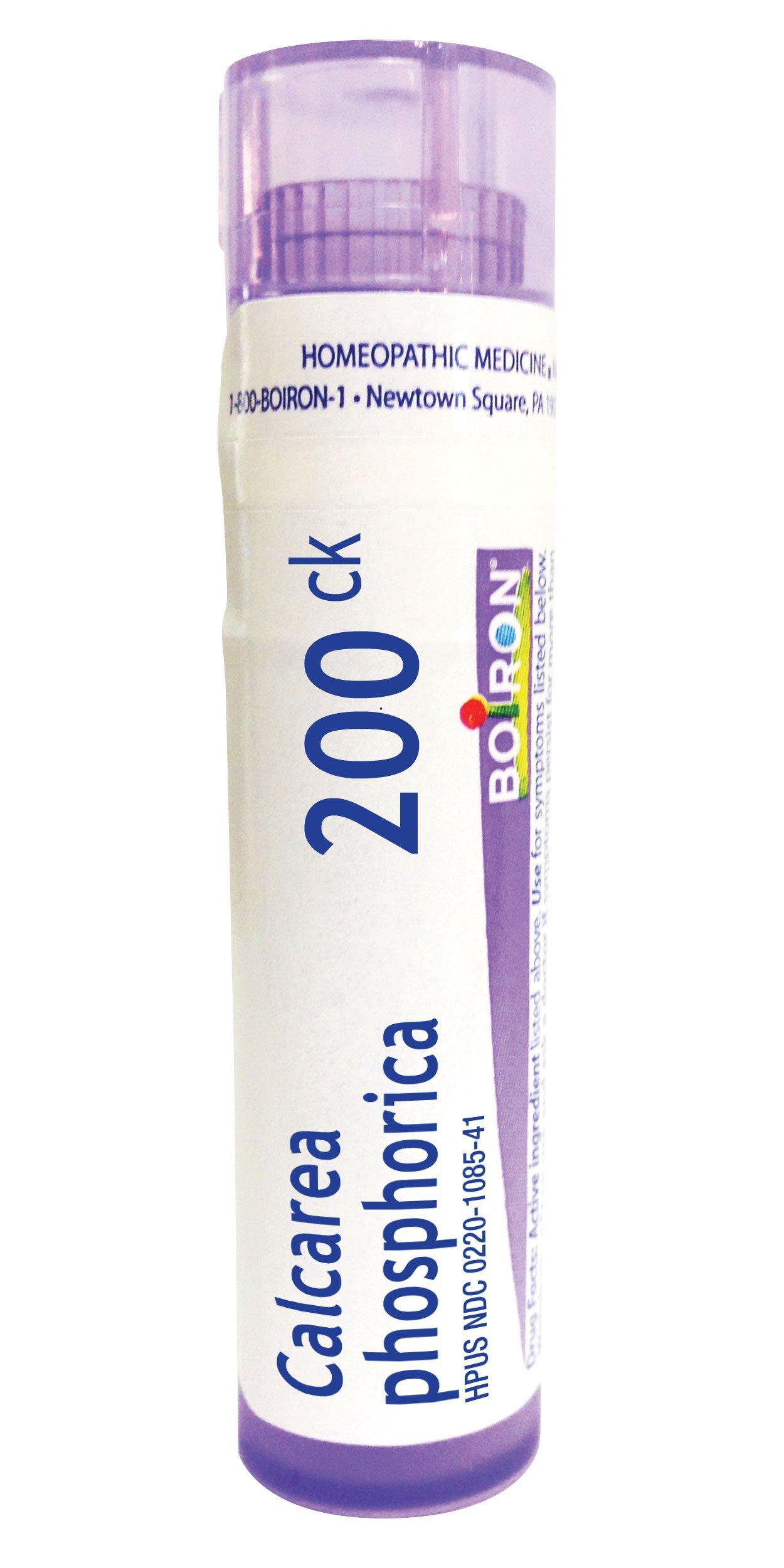 Boiron Calcarea Phosphorica 200C, 80 Pellets, Homeopathic Medicine for Growing Pains