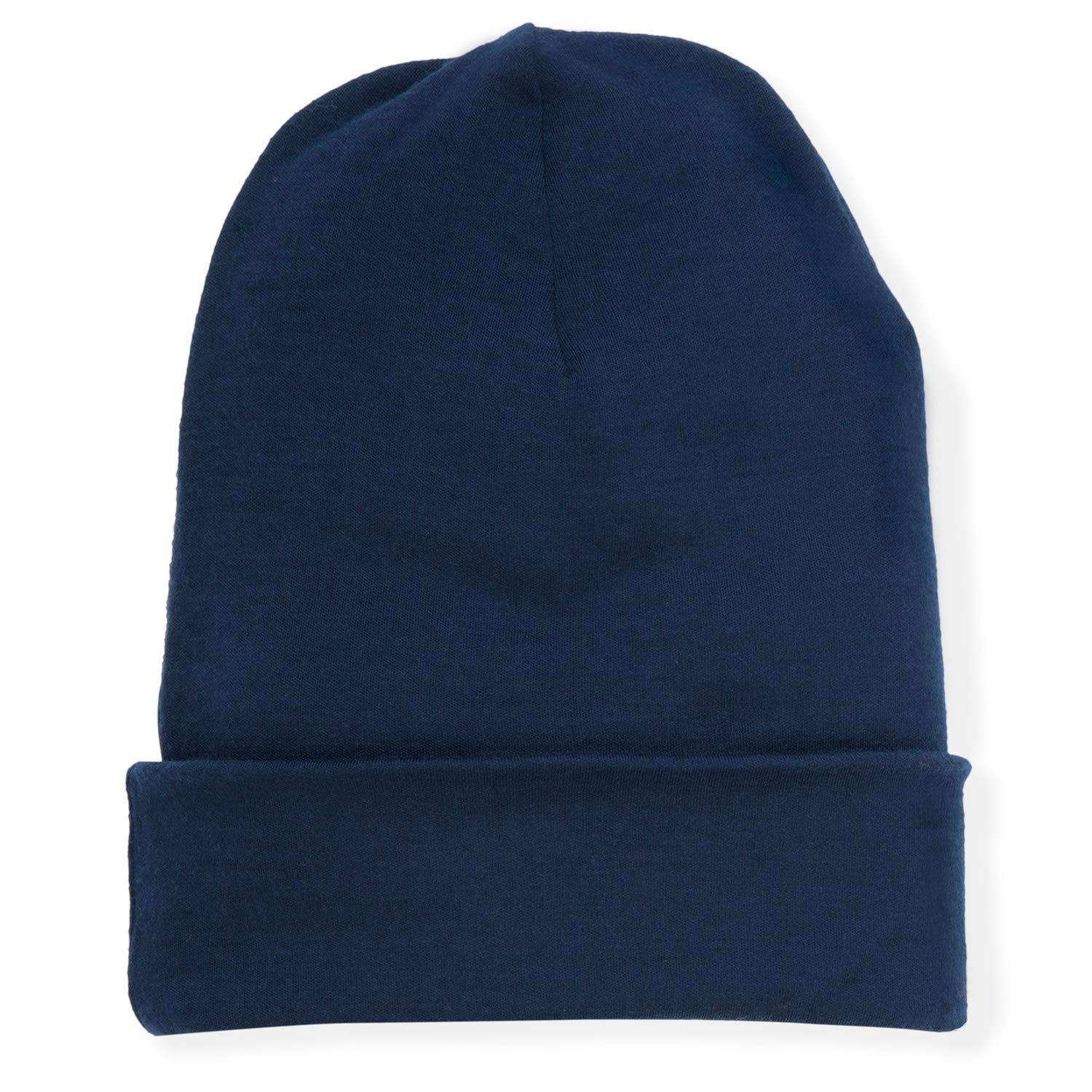 MERIWOOL Unisex Merino Wool Cuff Beanie Hat - Choose Your Color