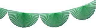 product image for 3-Pack 7 Foot Tissue Paper Bunting Garland Party Decoration (Mint Green)