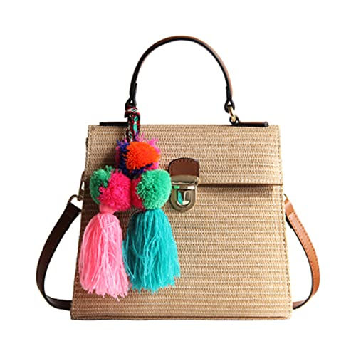 Amazon.com: Daniel bordado para mujer bolso de mano grande ...