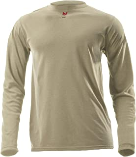 product image for DRIFIRE Flame Resistant Industrial Lightweight Long Sleeve Shirt Desert Sand, Size: XL