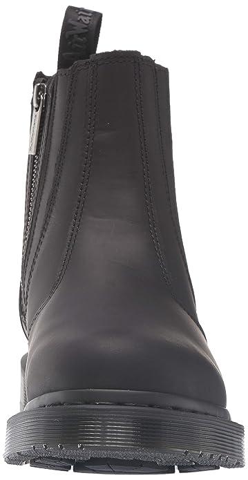 f7d677061d7 Dr. Martens 2976 Boot Alyson W/Zips Dark Brown