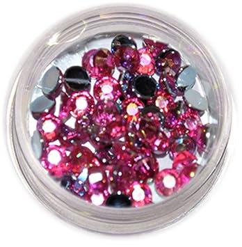 Rm Beautynails Strasssteine Mit 4mm Pink Rund Strass Steine Glitzer