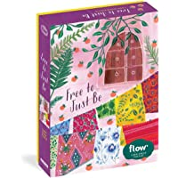 """Free to Just Be 1,000-Piece Puzzle: (Flow) for Adults Families Picture Quote Mindfulness Game Gift Jigsaw 26 3/8"""" x 18 7…"""