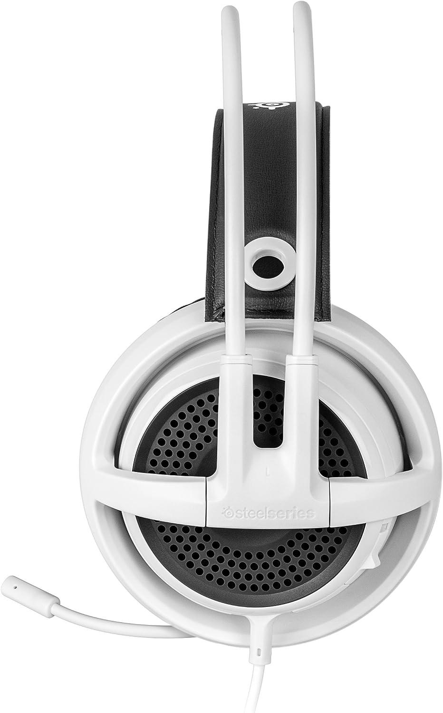 White SteelSeries Siberia v3 Comfortable Gaming Headset