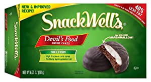 Snackwell's Devil's Food Cookies, 6.75-Ounce Boxes (Pack of 12) …