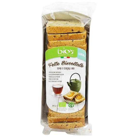 Delizioso Shop - Biscotes de Semillas y Cereales Bio y Aceite de Oliva Extra Virgen Levadura