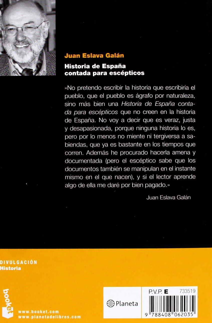 Historia de España contada para escépticos Divulgación: Amazon.es ...