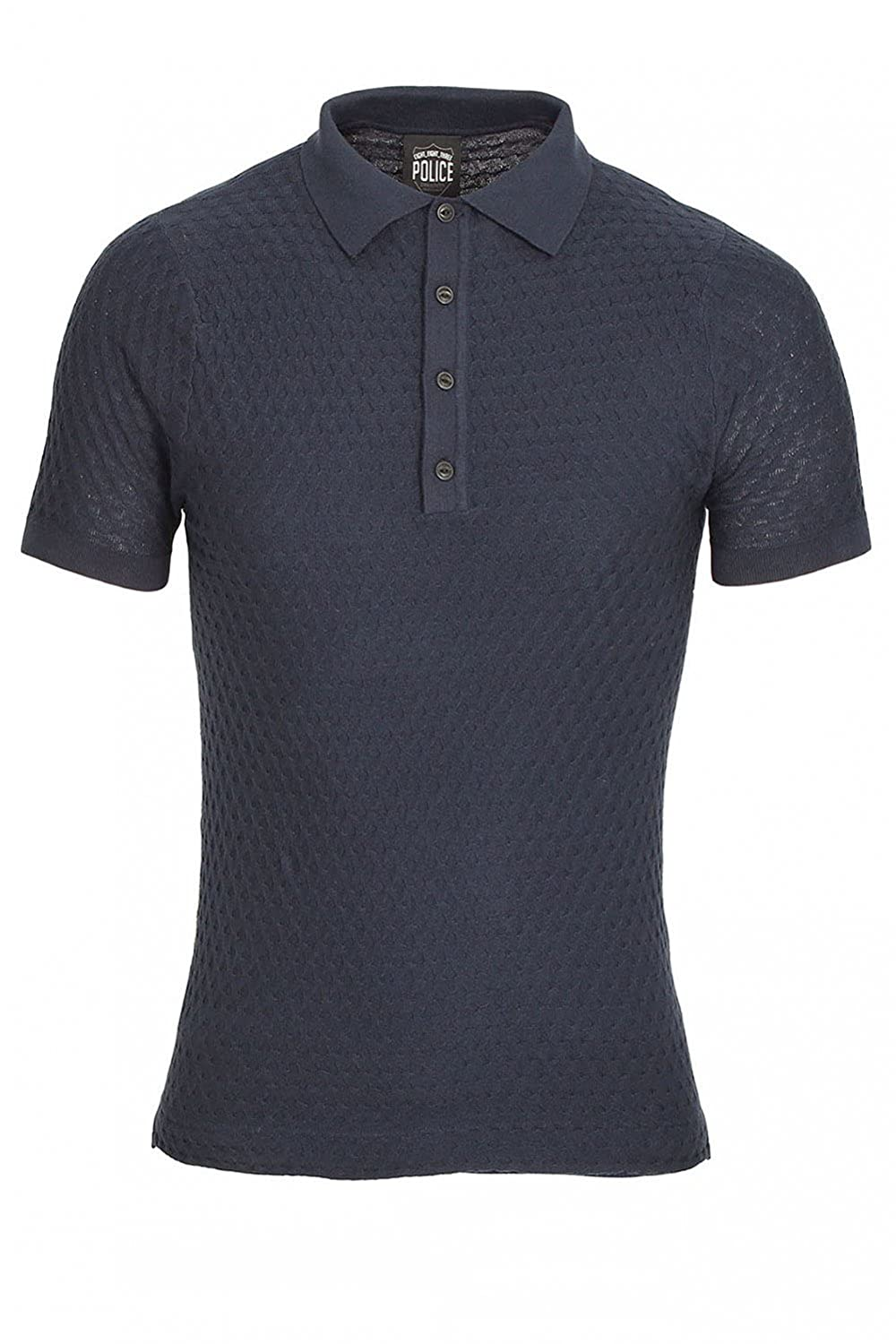 883 Police Wang Polo Shirt XXLarge Navy: Amazon.es: Ropa y accesorios