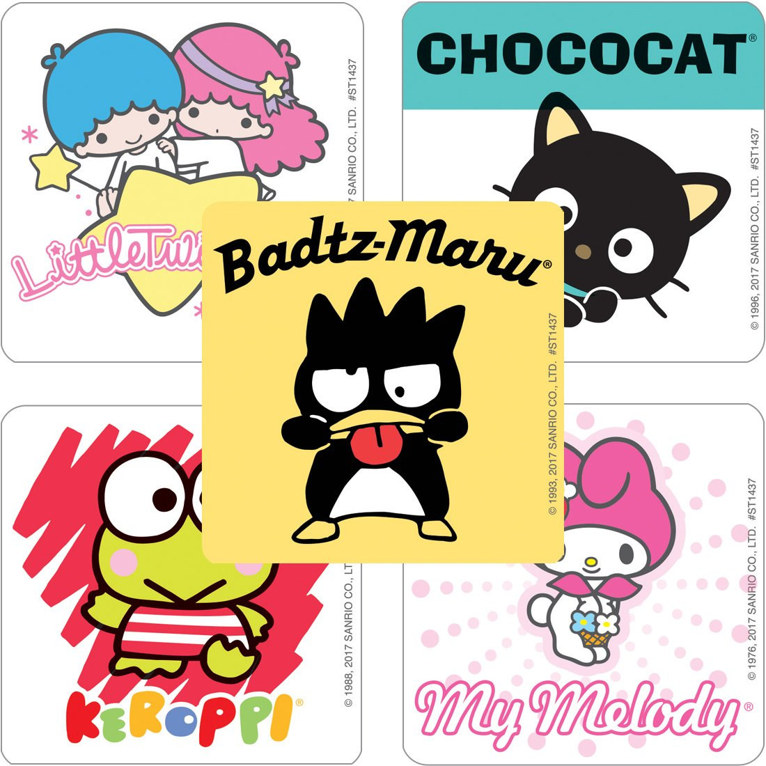 Prizes 100 Per Pack SmileMakers Inc SmileMakers Sanrio Friends Stickers