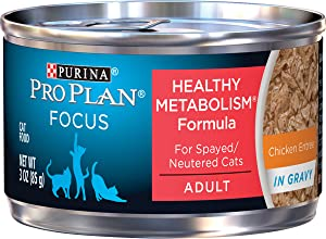 Purina Pro Plan Healthy Metabolism High Protein Gravy Adult Wet Cat Food (Packaging May Vary)