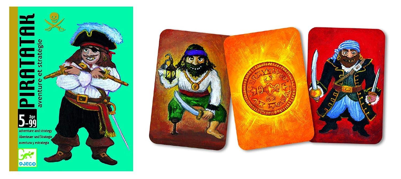 Djeco- Juegos de cartasJuegos de cartasDJECOCartas Pirataka ...