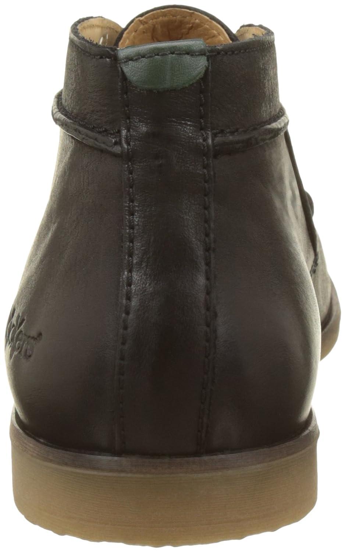 Kickers Flaval Herren Flaval Kickers Desert Boots Noir (Noir) 9bb940