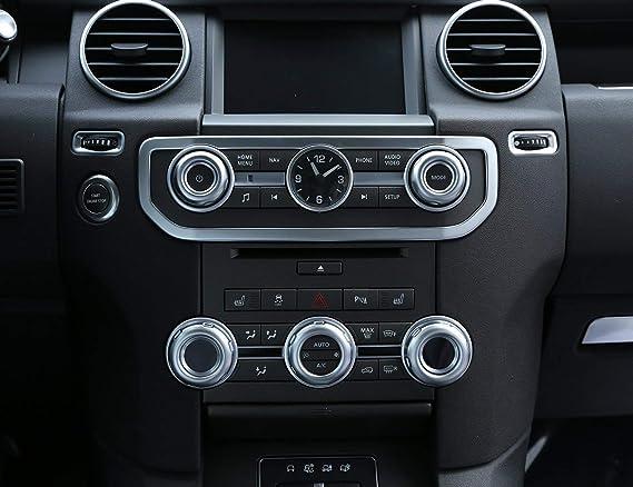 4Pcs Car Side Door Storage Box Holder Black for Land Rover LR4 Discovery 4 09-16