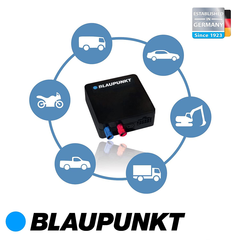Dispositivo de rastreo (BPT 1500) de Blaupunkt, con protección antirrobo, seguimiento por GPS y alarma, para coche, automóvil, moto o camión ...