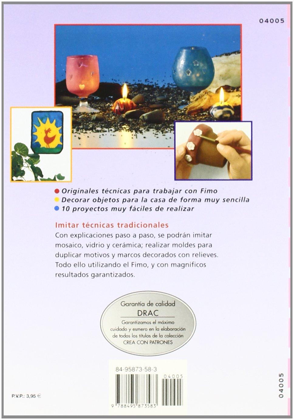 Imitar Mosaico Vidrio Y Ceramica Con Fimo *: RESTA M.: 9788495873583: Amazon.com: Books