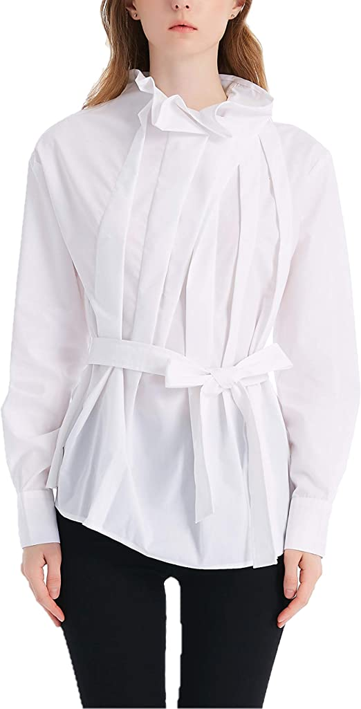 Free Amazon Promo Code 2020 for Women Pleated Front Wrap Tops