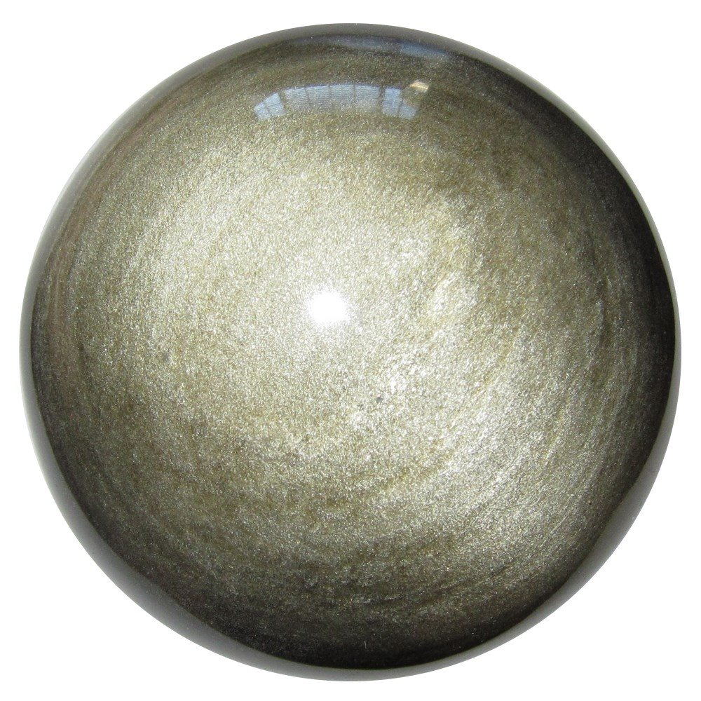 Obsidian Ball Gold 17 Picture Perfect Sheen Stone Law of Attraction Positive Manifestation Sphere 3.1 Satin Crystals obsidianballgold17