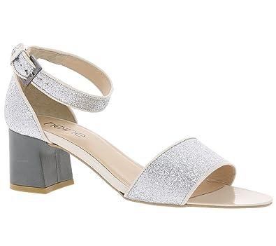 best sneakers 3079f 483f6 Heine Schuhe Sandalen Damen Glitzer Sandaletten ...