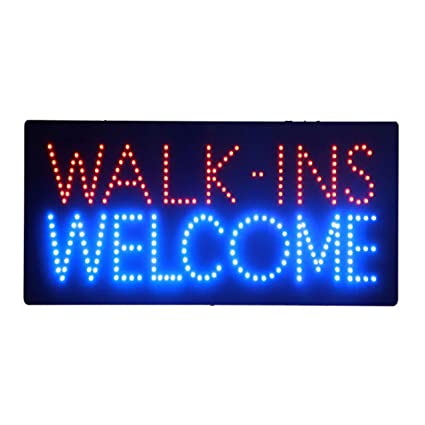 LED Nails Spa Pedicure Welcome Open Light Sign Super Bright ...