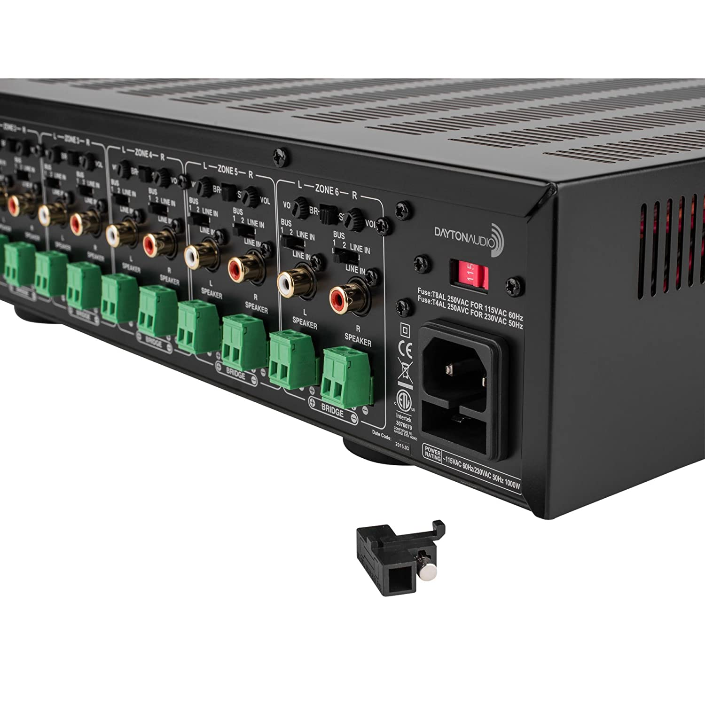 Dayton Audio MA1240a Multi-Zone 12 Channel Amplifier: Amazon.de ...